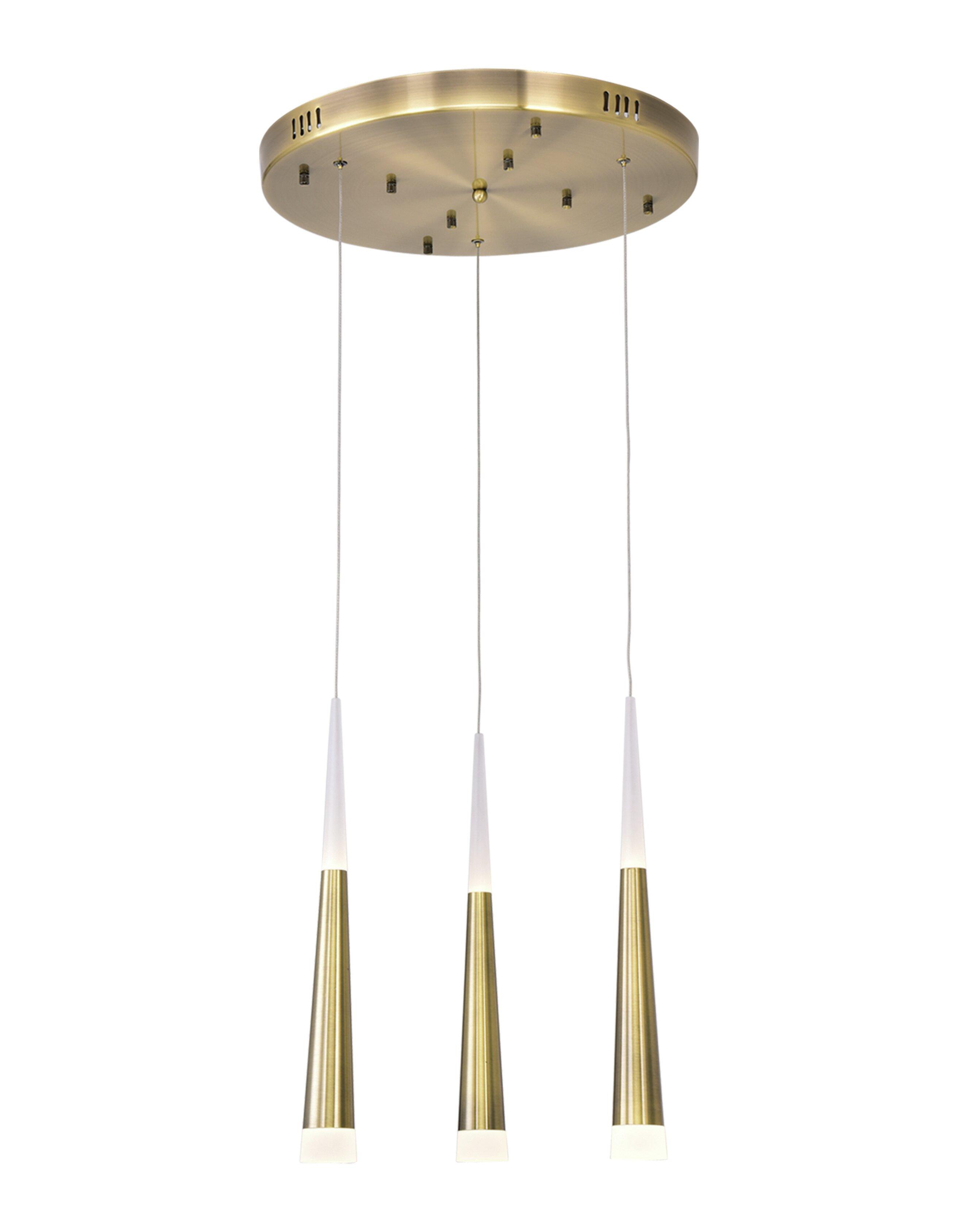 Cone Glam Pendant Lighting You Ll Love In 2021 Wayfair