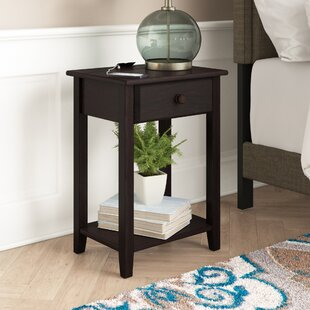 Isadore 1 Drawer Nightstand Winston Porter