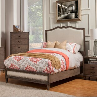 Gracie Oaks Oriane Upholstered Panel Bed