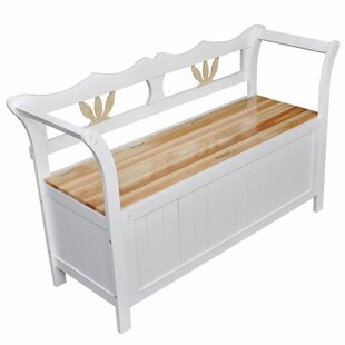 Compare Price Laila Wood Storage Bench