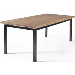 Gingko Home Furnishings George Walnut Dining Table with Live Edge