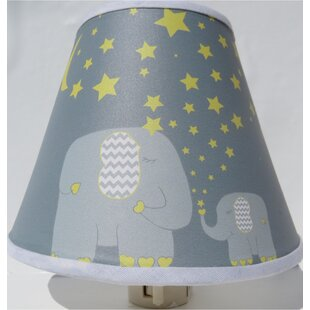 Presto Chango Decor Elephant with Stars and Moon Night Light