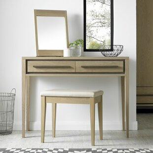 Dipaolo Dressing Table Set With Mirror By Ebern Designs