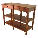 Portland Console Table by Reual James