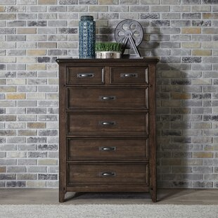 Earby 5 Drawer Standard Chest by Canora Grey