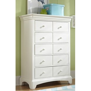 Crawfordville 5 Drawer Double Dresser