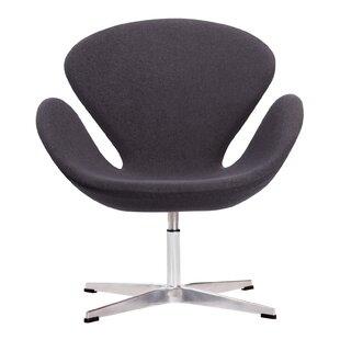 Edgemod Crux Swivel Lounge Chair