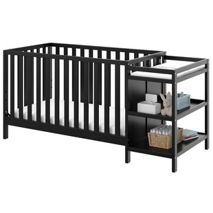 Pacific 4-in-1 Convertible Crib and Changer Combo By Storkcraft