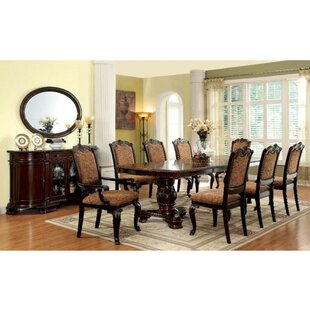 Rolanda 7 Piece Solid Wood Dining Set Astoria Grand