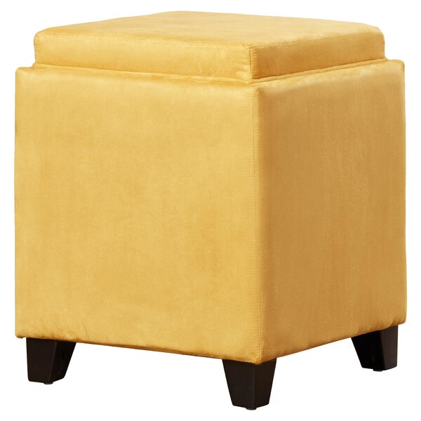 Brayden Studio Nicholson Cube Storage Ottoman U0026 Reviews | Wayfair