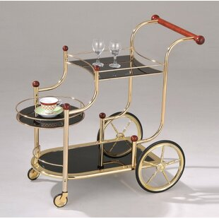 Libitz Serving Bar Cart by Red Barrel Studio
