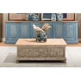 Shoreline Coffee Table with Storage by Sarreid Ltd