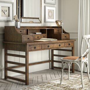 ArbyrdLeg Secretary Desk With Hutch