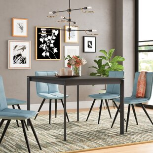 Layton Metal Legs Extendable Dining Table