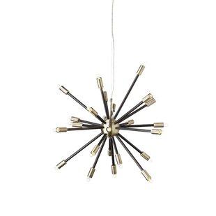 Sergei 24-Light Sputnik Chandelier by Nuevo
