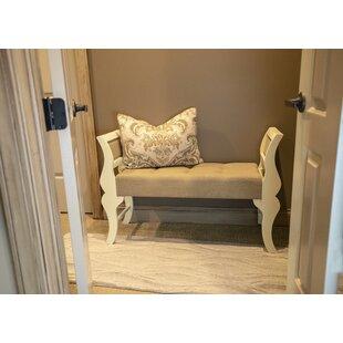 Sudbury Linen Upholstered Sleigh Bench