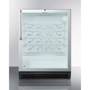 Summit Commercial 36 Bottle Single Zone Built-In Wine Cooler by Summit Appliance