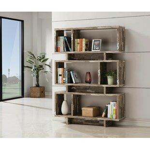 Lovato Geometric Bookcase by Gracie Oaks