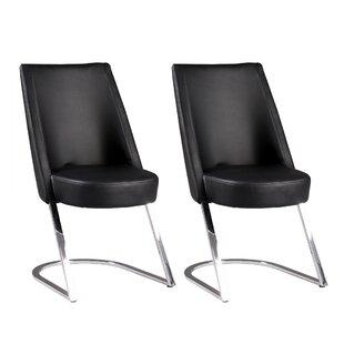 Kalman Upholstered Dining Chair (Set Of 2) By Orren Ellis