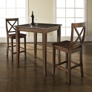 3 Piece Pub Table Set by Crosley