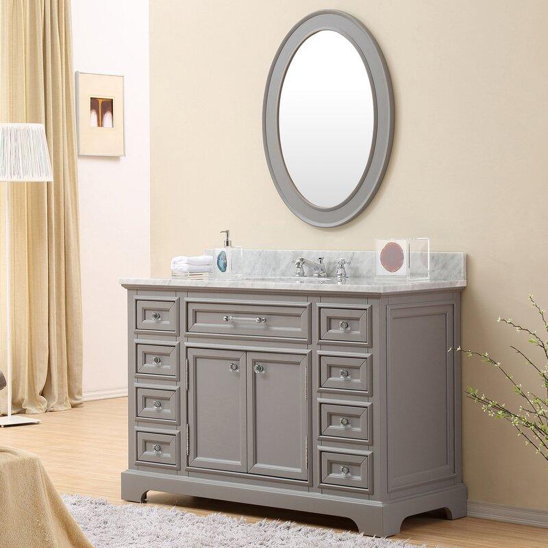 colchester 48 single sink bathroom vanity set