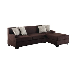Poundex Bobkona Samuel Reversible Sectional