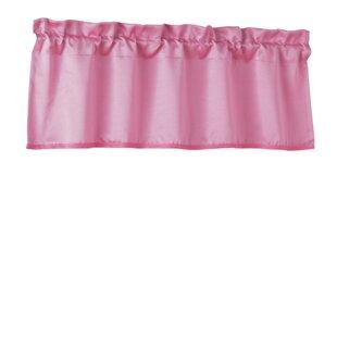 Pink Ruffled Valances U0026 Kitchen Curtains