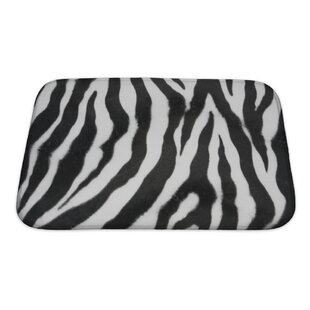 Animals Zebra Bath Rug