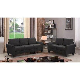 Aakin 2 Piece Standard Living Room Set by Red Barrel Studio