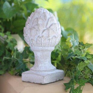 "Gourmet Home Collection Ceramic Artichoke Storage Container 5.75/""H Kitchen Decor"