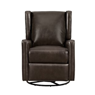 Hendersonville Handle Swivel Recliner