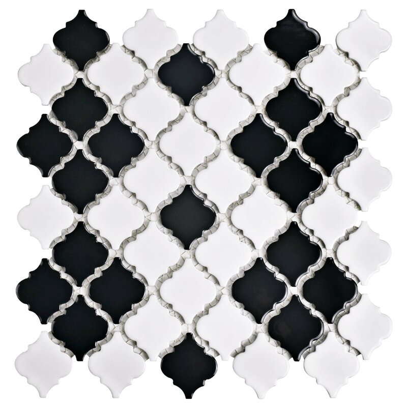 Black And White Tile Floor Wayfair