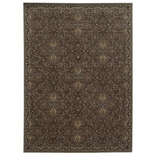 Tommy Bahama Vintage Brown / Blue Oriental Rug byTommy Bahama Home