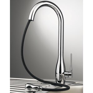 Maestro Bath Jar Single Handle Deck Mounted Kitchen Faucet with Pull Out Dual Shower