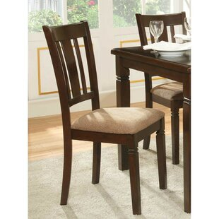 Blalock Upholstered Dining Chair (Set of 2) by Alcott Hill