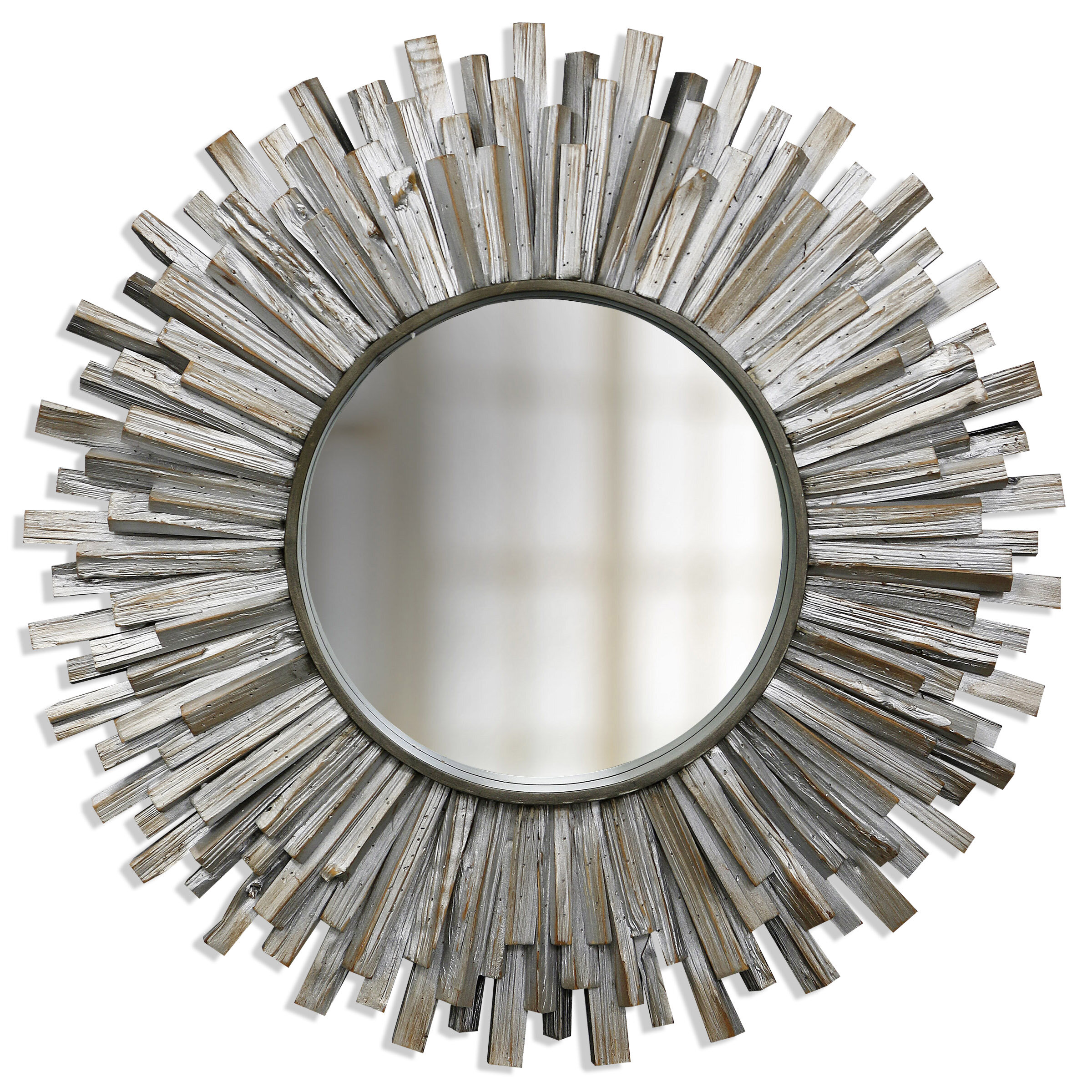 Beveled Rustic Wall Mirrors You Ll Love In 2021 Wayfair
