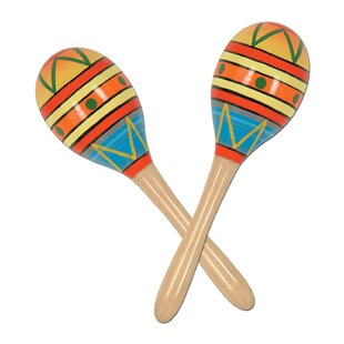 Fun Party Maracas (Set of 2)