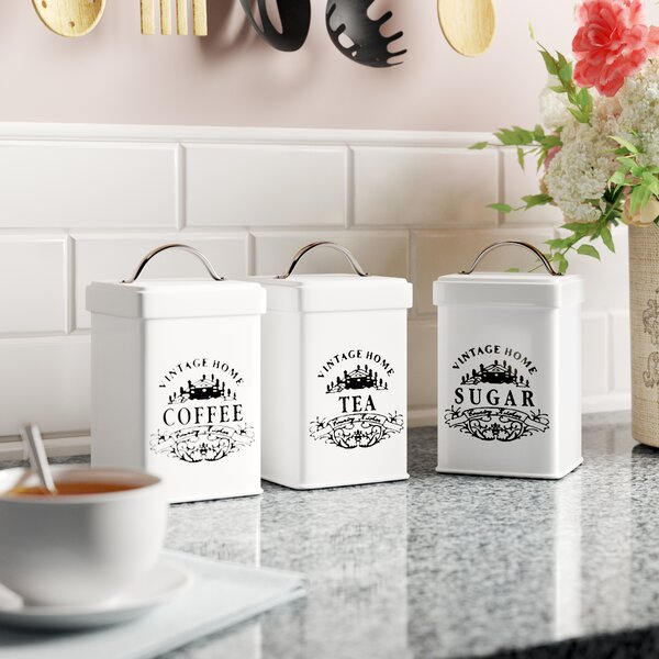 Sugar Tea Coffee Jars Wayfair