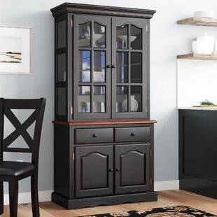 Canale Lighted China Cabinet by Charlton Home