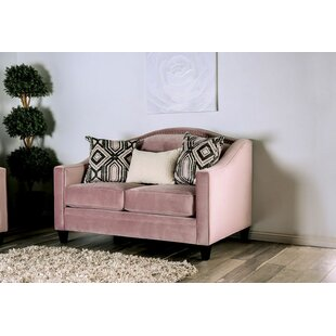 Ashcraft Loveseat by Rosdorf Park New Design