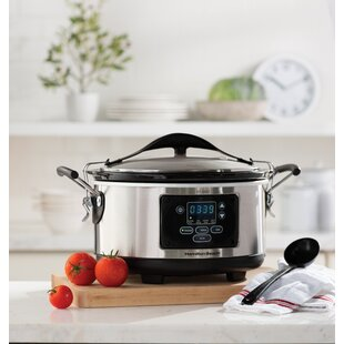 Great choice 6-Qt. Stay or Go Set and Forget Programmable Slow Cooker By Hamilton Beach
