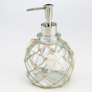 Seaglass Lotion and Soap Dispenser By Avanti Linens