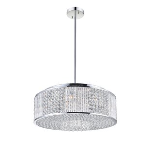 CWI Lighting 12-Light Crystal Chandelier
