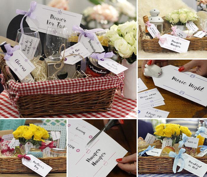 Diy Hampers 10 Free Sets Of Printable Gift Tags Wayfair Co Uk