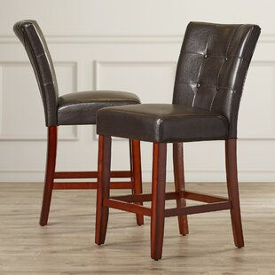 Lawhon 24 Bar Stool (Set of 2) Millwood Pines