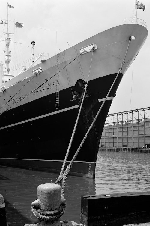 East Urban Home '1960s Bow of Leonardo Da Vinci Ship Tied Down to ...