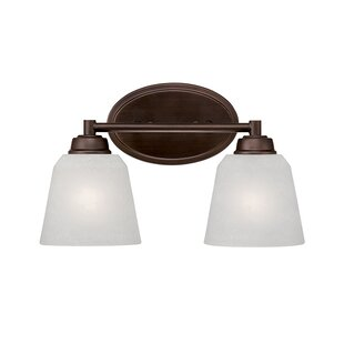 Online Reviews Franklin 2-Light Vanity Light By Millennium Lighting