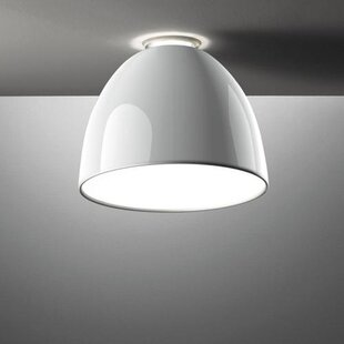 Nur Gloss 1-Light Semi Flush Mount by Artemide