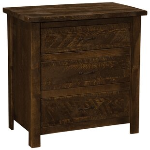 Fireside Lodge Premium Frontier 3 Drawer Chest