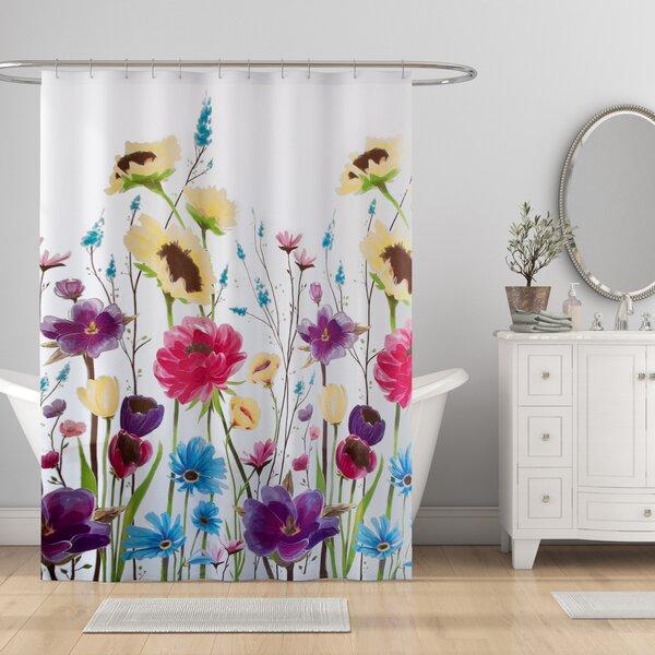 Contemporary Vibrant Shower Curtain Wayfair